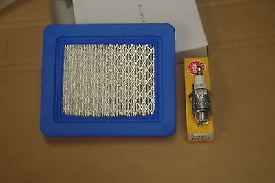 Air Filter & Plug for Mountfield Lawnmower with Briggs & Stratton Quantum Engine
