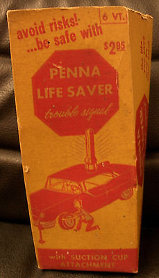 Penna Life Saver Trouble Signal, Vintage!  1957!  Early Plastic!  Works!