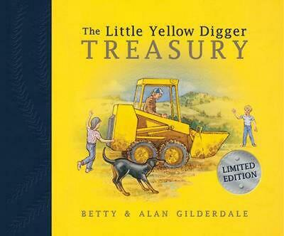 The Little Yellow Digger Treasury by Betty Gilderdale Hardcover Book Free Shippi