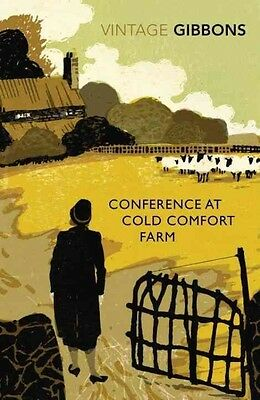 Conference at Cold Comfort Farm by Stella Gibbons Paperback Book (English)