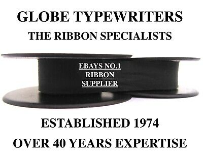 1 x 'OLYMPIA TRAVELLER C' *BLACK* TOP QUALITY *10 METRE* TYPEWRITER RIBBON