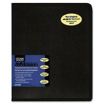 Itoya EV-12-11 Art Profolio Evolution 11x14in. Art Size 24 Sheets for 48 Picture