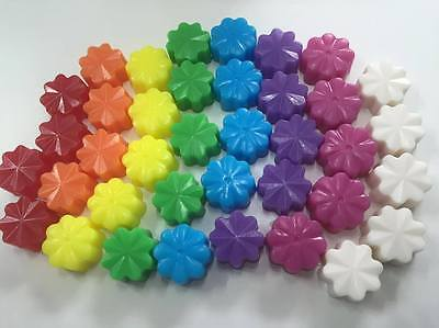 Flower Mini Soaps Wedding Party Christening Baby Kids Favours Scented Opaque