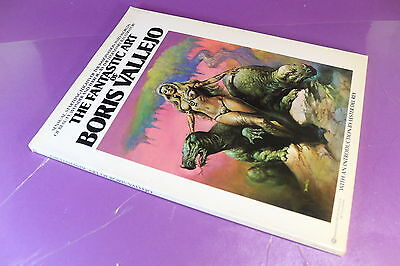 [Fa2] The Fantastic Art Of Boris Vallejo- Ballantine Books- 1978-  Ottimo