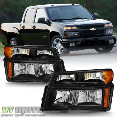 [4PC] 2004-2012 Chevy Colorado Canyon Headlights Corner Parking Lamps Left+Right