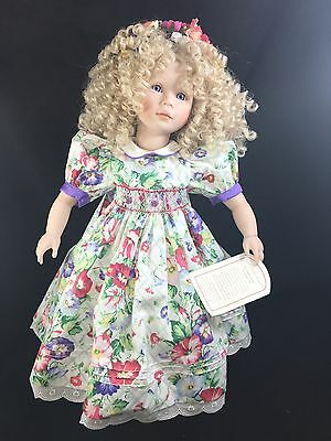 Dolls By Pauline Pauline's Doll Limited Edition Signed 168/950 Melissa Jacobsen