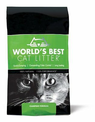 Worlds Best Cat Litter Bag Clumping Formula 6.35Kg Pet Supplies Great Odour Con