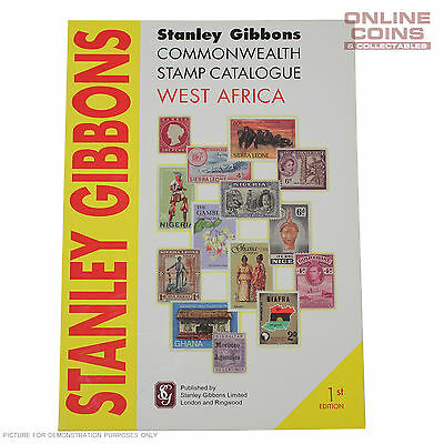 Stanley Gibbons West Africa 1st Edition Soft Cover Stamp Catalogue