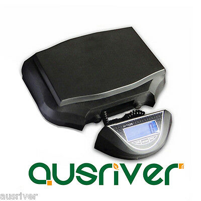 New Electronic Commercial Shop 30kg/1g Digital Postal Scales LCD Backlight Black