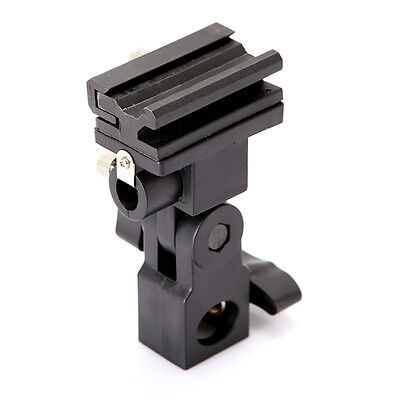 Flash Swivel Bracket Umbrella Holder Hot Shoe Mount Type B for Light Stand