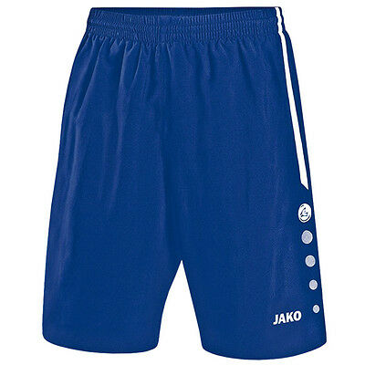 Jako Tracksuit Bottoms Turin Short Children's Sports Pants Royal White 4462-04