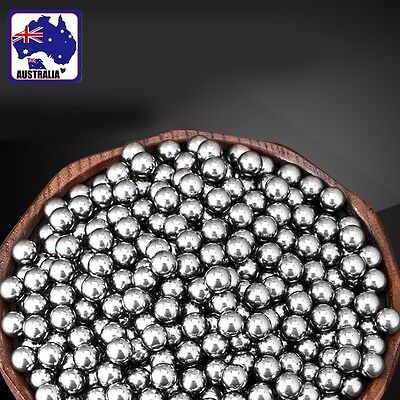 500pcs 11mm Diameter Bicycle Steel Bearing Ball Replacement TIBAL0811x500