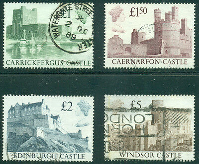 Great Britain Sg-1410-1413, Scott # 1230-1233 Set Used, Great Price!