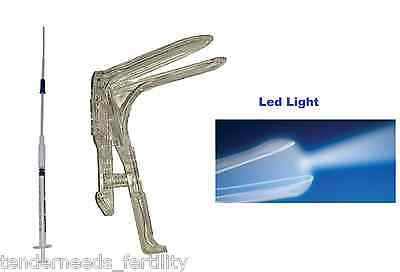 IUI and Speculum with LED Light- Artificial At Home Insemination Kit