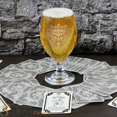 Game Of Kings Adult Drinking Party Card Game With Goblet Glass