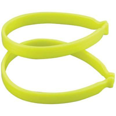 Reflective Cycle clips yellow Fluorescent trouser bike bands