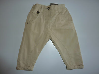 NEXT Gorgeous Little Boys Stone Chino Trousers with adjustable waist NWT
