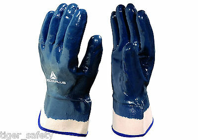 Facility Maintenance & Safety X5 Pairs Delta Plus Venitex Fb149 Yellow High Quality Full Grain Leather Gloves Yard, Garden & Outdoor Living