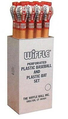 "Wiffle Ball 1001 32"" Wiffle Bat/Ball Set - Quantity 12 Made In USA"