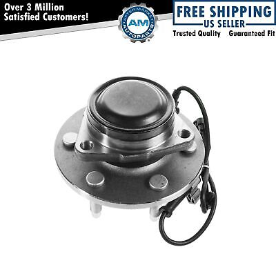 Front Wheel Hub & Bearing for Chevy GMC Pickup Truck 2WD 2x4 6 Lug w/ ABS