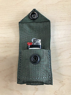 US Army Military MOLLE PALS Bic Lighter Tactical Pouch Mil-Spec TADGear DEVGRU