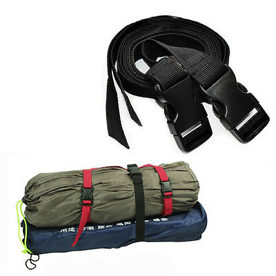 Durable Outdoor Camping Nylon Strength Backpack Tent Bundled Strap with Buckle