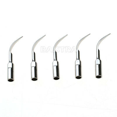 5PCS Dental Scaling Tip Ultrasonic Scaler Perio For DTE/SATELEC Handpiece
