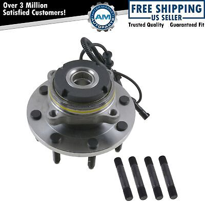 Wheel Hub & Bearing Front for Ford Pickup Truck SD 4x4 4WD w/ ABS