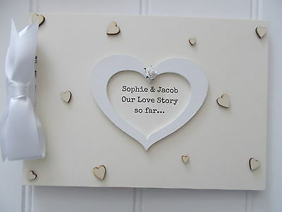 Personalised Love Scrapbook Photo Book Memories Quick Posting A5 Or A4