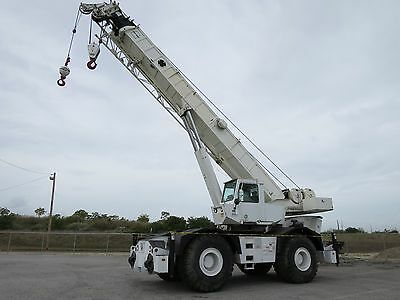 1999 Grove Rt-750 50 Ton Rough Terrain Crane 110Ft Boom + Jib Cummins 2 Winches
