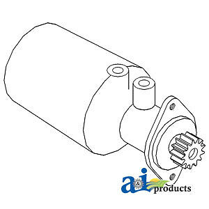 A-523089M91-E Massey Ferguson Parts POWER ST. PUMP (ECONOMY)  1080, 1085, 285