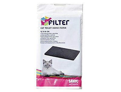 "Savic Spare Carbon Filter Pet Supplies Carbon Filter Cat Toilet "" Cat-O-Net"" New"