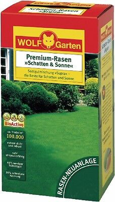 Premium - Grass Shadow and Sun LP 200 Lawn Seed for 200 m ² by Wolf Garten