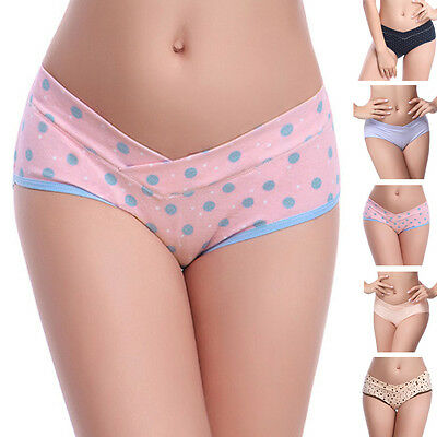 Pregnant Women Maternity Panties Low-waist Briefs Cotton Underwear Underpants