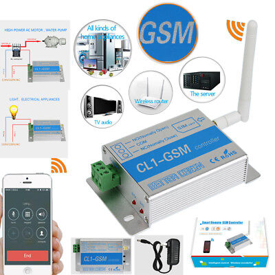 Remote Control GSM RELAY Quad Band Phone Call SMS SIM Smart Switch Controller