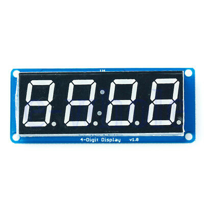"0.56"" LED 4-Digit Tube Display (D4056A) Module with Time Clock for Arduino TW"