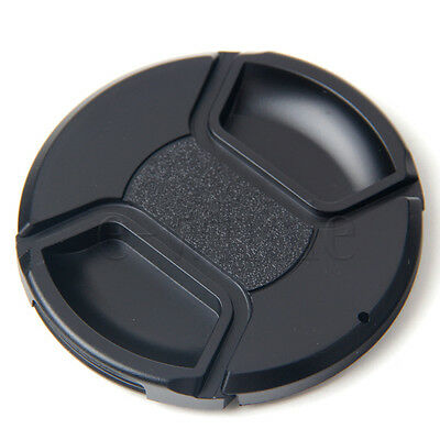 5pcs 77mm Center-Pinch Snap-on Front Lens Cap Cover for Canon Nikon TW