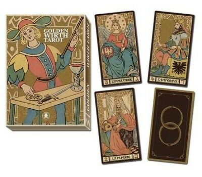 Golden Tarot of Wirth Grand Trumps by Lo Scarabeo (English)