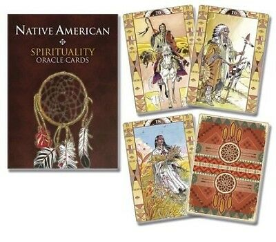Native American Spirituality Oracle Cards by Lo Scarabeo (English)