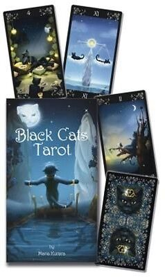The Black Cats Tarot Deck by Lo Scarabeo (English)