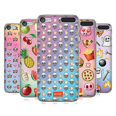 OFFICIAL EMOJI PATTERNS HARD BACK CASE FOR APPLE iPOD TOUCH MP3