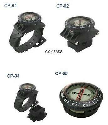 Red Hat Diving. Wrist mounted watch style compass. CP-01