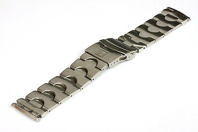 Solid stainless steel Tissot bracelet for parts/restore - 116587