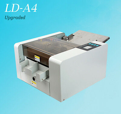Upgraded A4 Business Card Cutter Photo Flyer Cutting Machine,Automatic