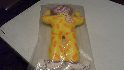 Rare Vintage 1960's Brach's Candy Brocho The Clown Mail In Doll Factory Sealed