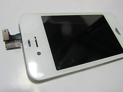 NEW ORIGINAL iPHONE 4S LCD TOUCH SCREEN DIGITIZER DISPLAY ASSEMBLY WHITE