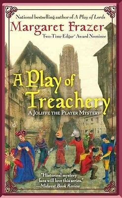 A Play of Treachery by Margaret Frazer Mass Market Paperback Book (English)