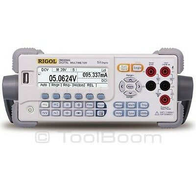 RIGOL DM3058E Bench Type Digital Multimeter (True RMS, 5 ½ digit, USB/RS-232)