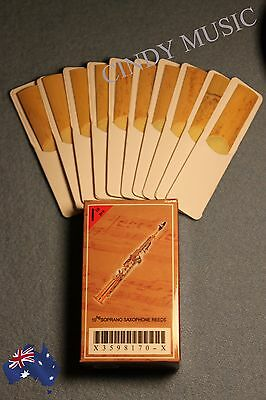 NEW XINZHONG Soprano Saxophone reeds bB 10 piece of packaging