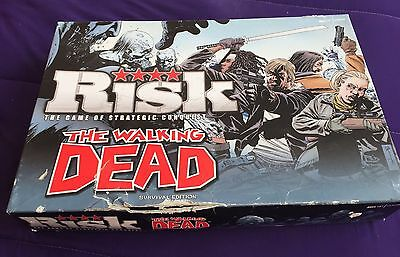 Jeu De Société Risk The Walking Dead